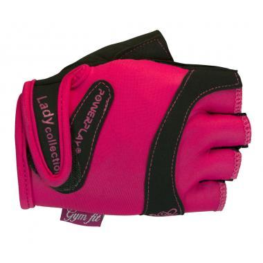 Перчатки для фитнеса PowerPlay 1729 pink женские