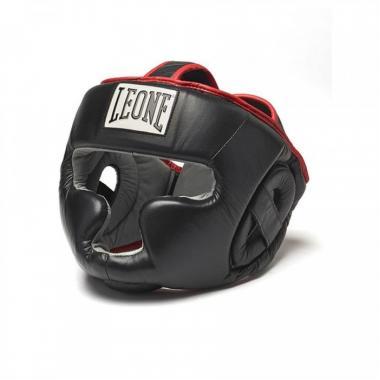 Боксерский шлем Leone Full Cover Black