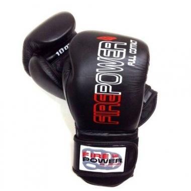 Перчатки боксерские FirePower FPBG4 Black (14, 16 OZ)