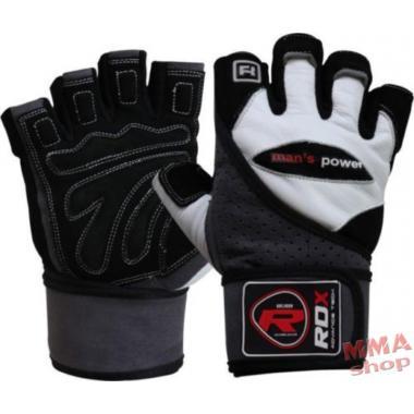 Перчатки для тренажерного зала RDX Pro Lift Gel