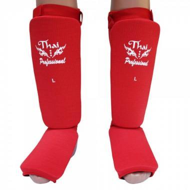 Защита ног Thai Professional SG5 Red