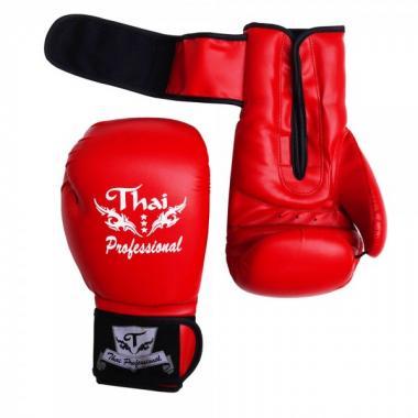 Перчатки боксерские Thai Professional BG3 Red