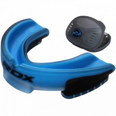 Капа для бокса  RDX GEL 3D ELITE BLUE