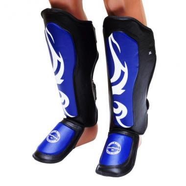 Щитки на ноги FirePower Black/Blue FPSGA6-BK-BL