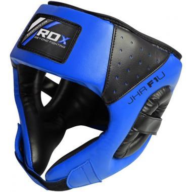 Детский боксерский шлем RDX Blue