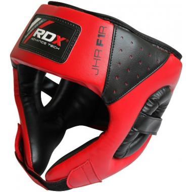 Детский шлем RDX Red для бокса и ММА