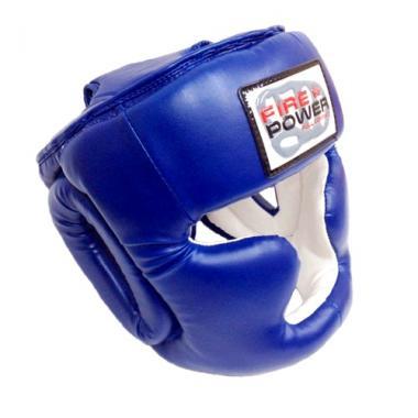 Шлем боксерский для тренировок FirePower FPHGA3 Blue