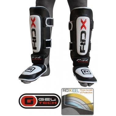 Защита голени и голеностопа RDX Leather