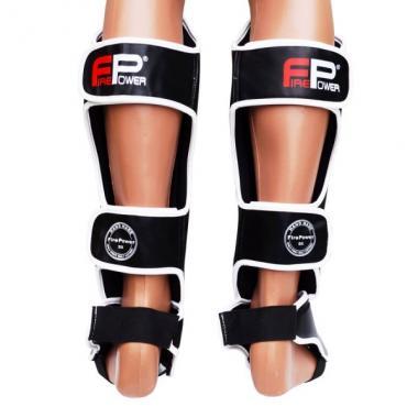 Защита голени FirePower Black/White FPSGA8-BK-W